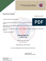 Invitation Bailliage Du Lyonnais 23 MAI