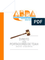 Cartilha Direito Dos Port Adores de TDAH