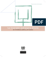 La Inversión Extranjera Directa en América Latina (2010)