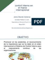 Control Interno en el marco internacional