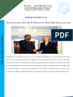 Synthèse de la 2nde Réunion haut niveau Etats-Unis/Union africaine