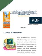B-learning en Procesos de Postgrado