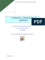 Climatizacion en Quirofanos