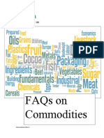 FAQs on Commodities