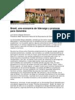Brasil Economia Liderazgo Promesa Colombia