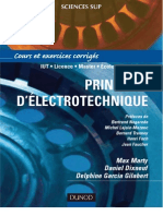 Principes d'Electrotechnique
