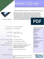 +Especificaciones Pad de Firma marca TOPAZ SignatureLITE T-L462.....ID SMART TECH