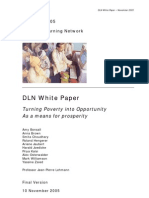 DLN Turning Poverty Into Opportunity - White Paper Final