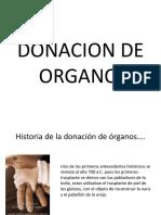 DONACIÓN DE ÓRGANOS  Y TRAFICO ILEGAL DE ÓRGANOS