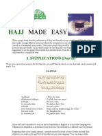Haj-Umrah Made Easy