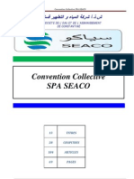 Convention Collective SEACO-2011