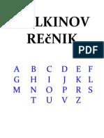 Tolkinov recnik
