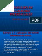 Resolucion de Ecuaciones Diferenciales