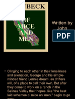 Intro) of Mice and Men Context