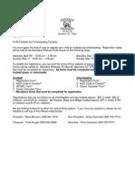 Wildcats Registration Package 2011