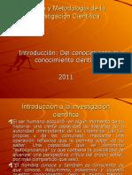 Introduccion a La Teoria y Metodologia de La Investigacion Cientifica