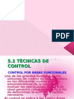 Unidad 5.. tecnicas de control y tecnología de la información