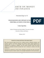 Research on Money and Finance -Lapavitsas
