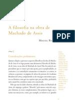 Miguel Reale - A Filosofia Na Obra de Machado de Assis