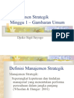 A. Manajemen Strategic - Chapter 1 14 - Concept of Strategic Management