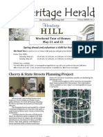 Heritage Herald - The Newsletter of Heritage Hill - Mar/April 2011
