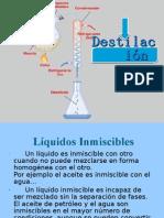 Destilacion por arrastre de vapor