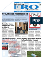Washington D.C. Afro-American Newspaper, May 7, 2011