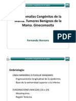 4.1Anomalías Congénitas de la mama