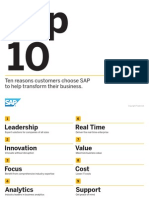 SAP-Top 10 Reasons