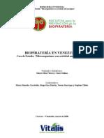 Informe Final Biopirateria Venezuela