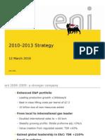 ENI 2010 Strategy
