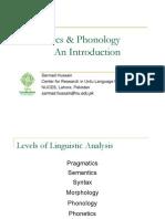 Phonetics and Phonology