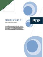 Aids and Women in Botswana
