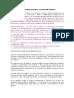 OBJETO Y METODO DE ESTUDIO DE LA SOCIOLOGÍA GENERALxx