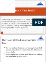 What is a Case Study - PPT