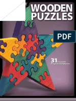 Wooden Puzzles - 31 Favorite Projects Patterns