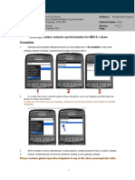 Blackberry Contacts Wireless Synchronization Guide Ver1.2