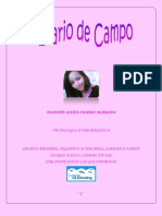 Diario de Campo Abril Mayo
