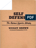 Self Defense Wesley Brown 1951
