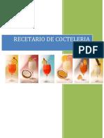 RECETARIO DE COCTELERIA