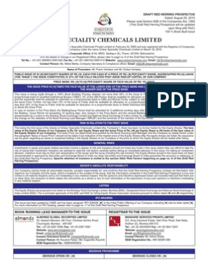 Omkar Speciality Chemicals Ltd  | Stocks | Initial Public