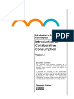 Introduction to Collaborative Consumption