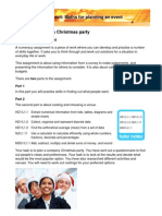 Planning a Christmas Party