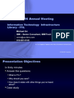Global Library Ann Mtg 2006 Presentations ITIL Orr