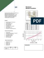 Submittal Sheet Einsulation Rockwool Blanket Insulation