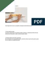 Etape in Montarea Lambriurilor Din PVC