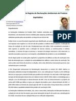 Divulgação_Registo de EPD