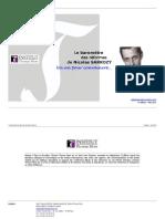 Le Baromètre de l'institut Thomas More des réformes de Nicolas Sarkozy