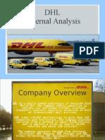 DHL External Analysis