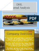 DHL External Analysis
